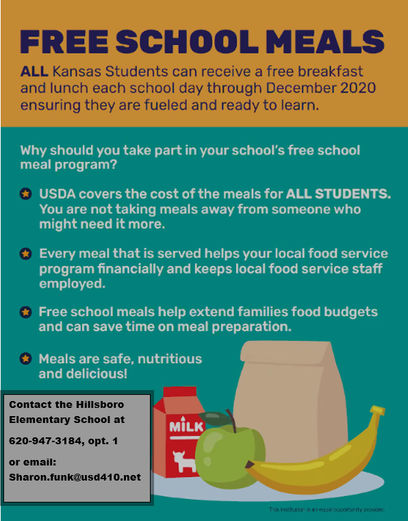 Don't miss out on the Free School Meals!