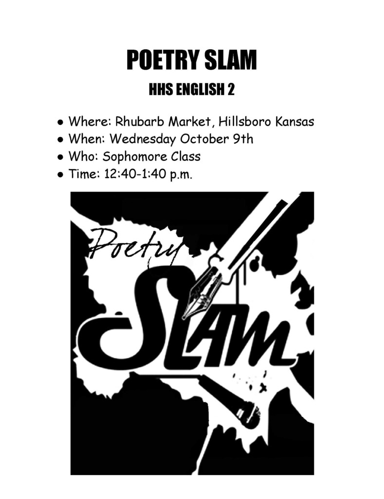 Poetry Slam 5th