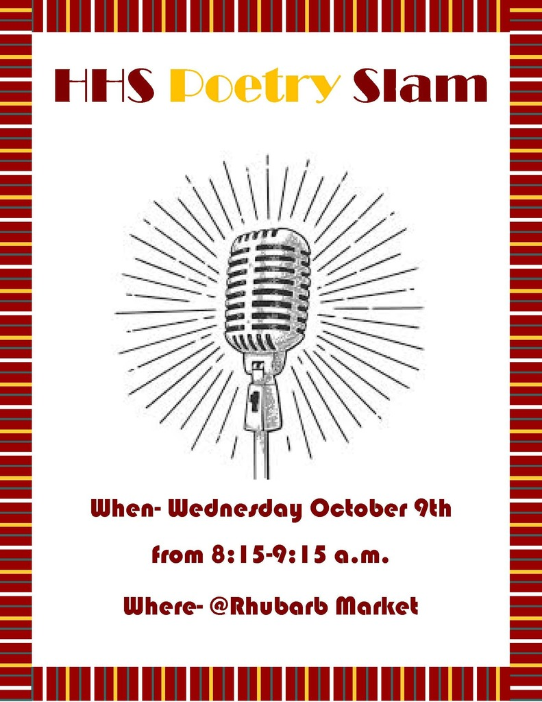 Poetry Slam 1st